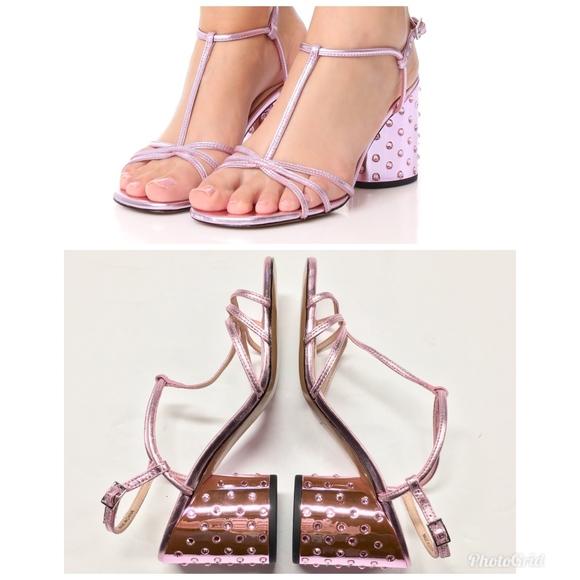 9888d6e883f1 MARC JACOBS Crystal Studded Heel Sheena Sandal. M_5bd8b42145c8b33dd1e2e129